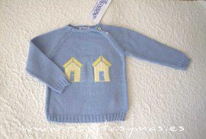 Jersey azul CASETAS de ANCAR
