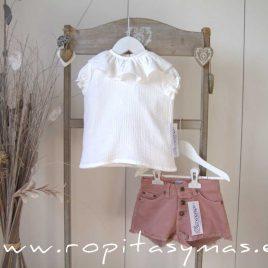 Short jeans rosa de ANCAR, verano 2021