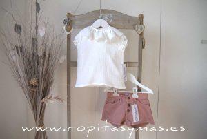 Short jeans rosa de ANCAR