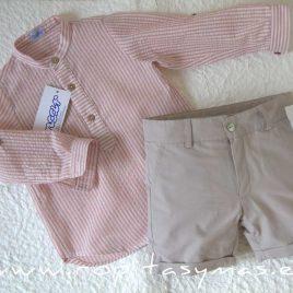 Camisa RAYAS rosas de ANCAR, verano 2021