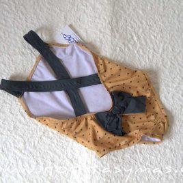 Bañador ESTRELLAS mostaza de ANCAR, verano 2021