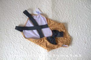 Bañador ESTRELLAS mostaza de ANCAR