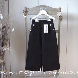Pantalón lino NEGRO de ANCAR, verano 2021
