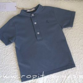 Polo mao azul FLORENCE de EVE CHILDREN, Verano 2021