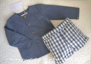 Camisa niño azul FLORENCE de EVE CHILDREN
