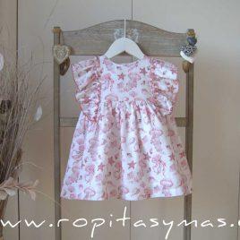 Vestido marsala JELLYFISH de EVE CHILDREN, verano 2021