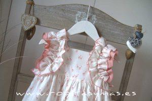 Vestido jirafas rosas JIRAFFE de EVE CHILDREN