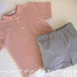 Polo mao rosa JIRAFFE de EVE CHILDREN, Verano 2021