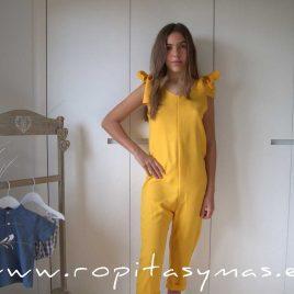 Mono amarillo mango FLORENCE de EVE CHILDREN, verano 2021