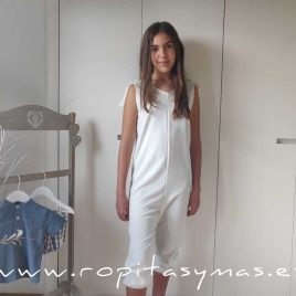 Mono blanco ROCKET de EVE CHILDREN, verano 2021
