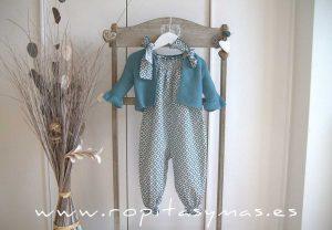 Mono geométrico azul LAGOON de EVE CHILDREN