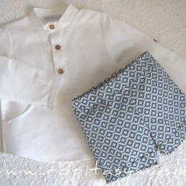 Camisa niño blanca LAGOON de EVE CHILDREN, verano 2021