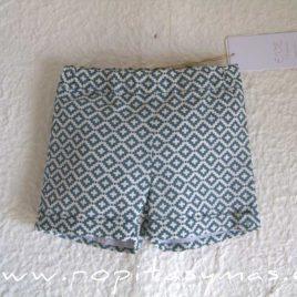 Pantalón corto geométrico LAGOON de EVE CHILDREN, verano 2021
