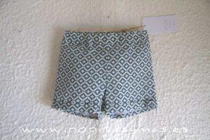 Pantalón corto geométrico LAGOON de EVE CHILDREN