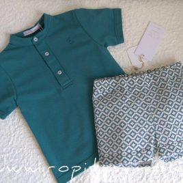 Polo mao azul LAGOON de EVE CHILDREN, Verano 2021