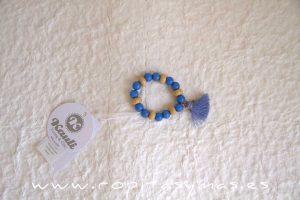 Pulsera arena y azul MENORCA de KAULI