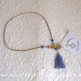 Collar azul MENORCA de KAULI, verano 2021
