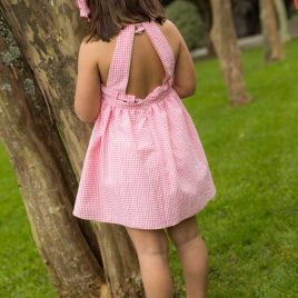 Vestido MANDARINA de LA MARTINICA, verano 2021