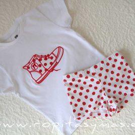 Camiseta bota CÁDIZ niño de LA MARTINICA, verano 2021