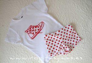 Camiseta bota CÁDIZ niño de LA MARTINICA
