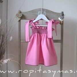 Vestido ROSA NIDO MON PETIT BONBON, verano 2021