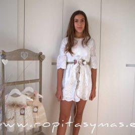 Vestido cintura ALMA de BELLA BIMBA, verano 2021