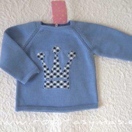 Jersey azulado niño ARIA de EVA CASTRO, verano 2021