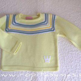 Jersey niño amarillo NARA de EVA CASTRO, verano 2021