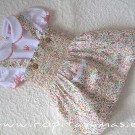 Conjunto pichi y blusa YVONNE de EVA CASTRO, verano 2021