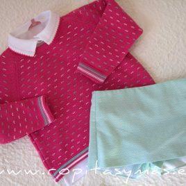Conjunto falda pantalón LEA de EVA CASTRO, verano 2021