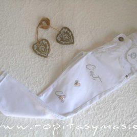 Pantalón blanco PRADERA de KAULI, verano 2021