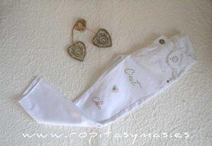 Pantalón blanco PRADERA de KAULI