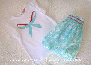 Conjunto falda niña LYSSA de EVA CASTRO