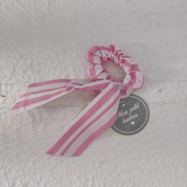 Coletero rayas rosas MONITOS de MON PETIT BONBON, verano 2021