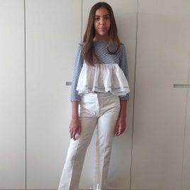 Conjunto CELESTE  pantalón largo de QUERIDA PHILIPPA