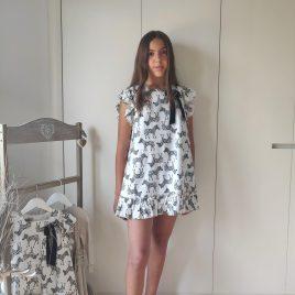 Vestido CEBRAS SAFARI de LA MARTINICA, verano 2021