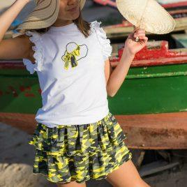 Conjunto camiseta y falda KATAR de LA MARTINICA, verano 2021
