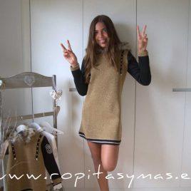 Vestido YOUNG & CHIC TWEED de KAULI, invierno 2021