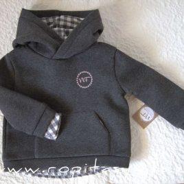 Sudadera niño gris GAIA de NOMA, invierno 2021