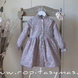 Vestido liberty STAR de EVE CHILDREN, invierno 2021