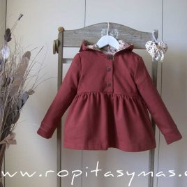 Sudadera niña capucha ROSE de EVE CHILDREN, invierno 2021
