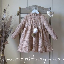 Vestido liberty ROSE de EVE CHILDREN, invierno 2021