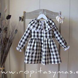 Vestido vichy BRANDY EVE CHILDREN, invierno 2021