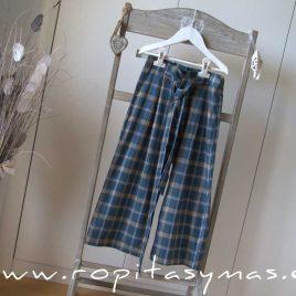 Pantalón tartán Culotte BLUE DUCK de EVE CHILDREN, invierno 2021