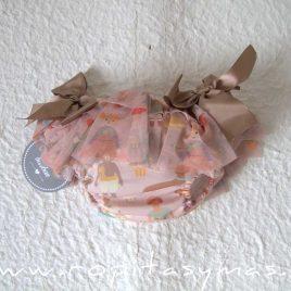 Braguita rosa tul CROMOS de MON PETIT BONBON, invierno 2021