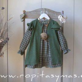 Chaleco verde GREEN ALIVE de EVE CHILDREN, invierno 2021