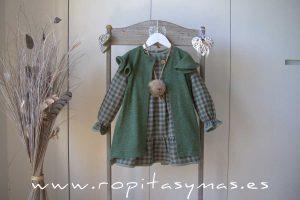 Chaleco verde GREEN ALIVE de EVE CHILDREN