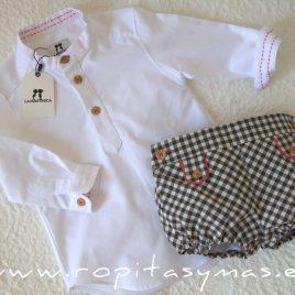 Conjunto camisa y bombacho niño ALASKA de LA MARTINICA, invierno 2021