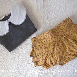 Conjunto jersey y bombacho HELECHO de LA PEPPA, invierno 2021