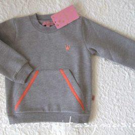 Sudadera gris niño GIULIA de EVA CASTRO, invierno 2021